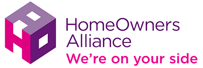 Home Owners Alliance logo - mobile